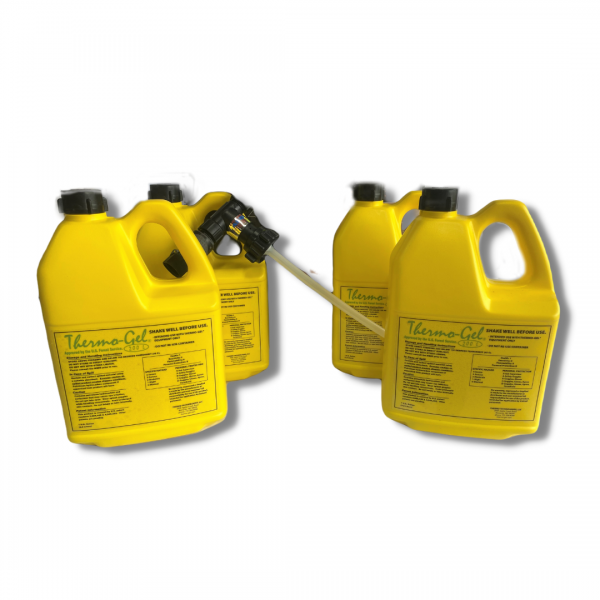 Thermo Gel Package – Thermo Gel Concentrate (4 Gallons) and Scotty Sprayer