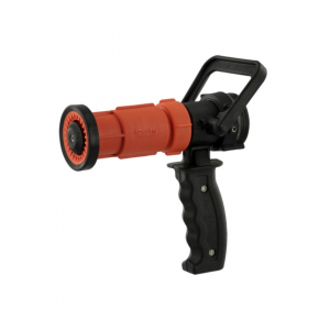 Nozzle, 1.5″ NH thread, Scotty Fire, Pistol Grip, D-Handle On/Off, 50 to 100 GPM, Poly