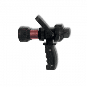 Nozzle for 1.0 Hose, Pistol Grip, Bale On/Off, Dixon Aluminum Nozzle, 15 to 50 GPM, with NPSH Adapter, 170 PSI