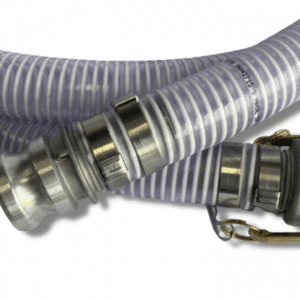 Suction Hose Extension, 15 Foot, Male-Female Cam Locks, 2.5″